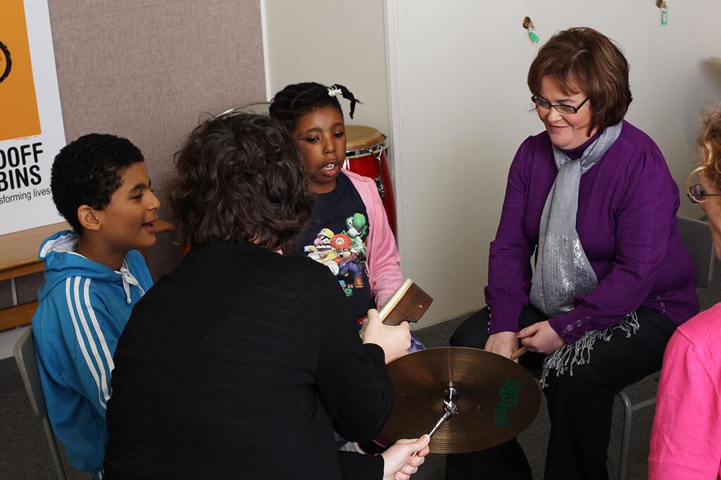 Susan Boyle Visits Nordoff Robbins Centre