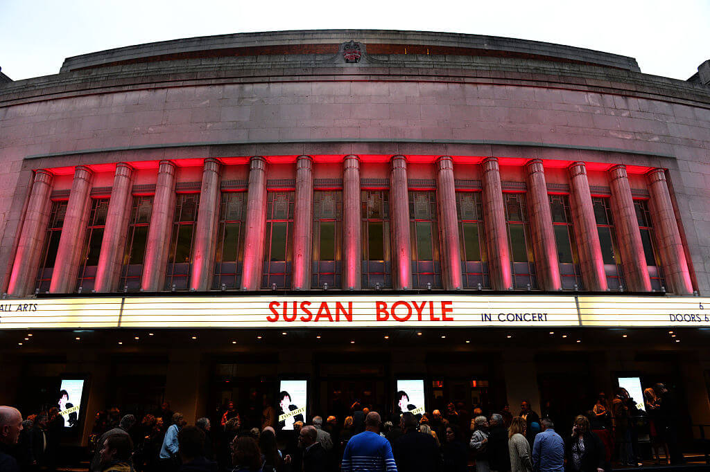 UK - Music- Susan Boyle Performs in London