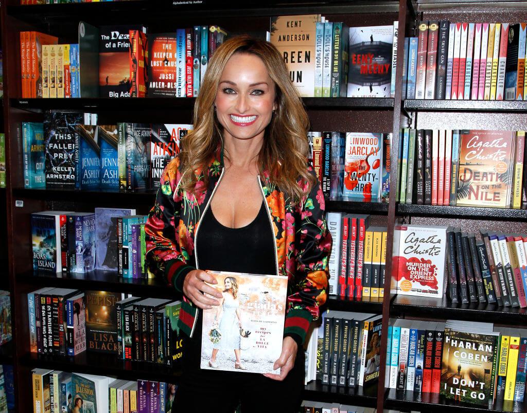 Giada De Laurentiis Signs Copies Of Her New Book