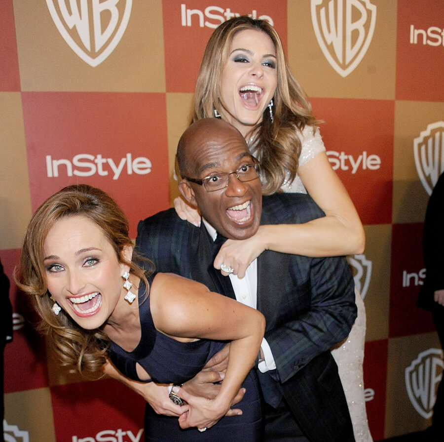 InStyle And Warner Bros. Golden Globe Party - Arrivals