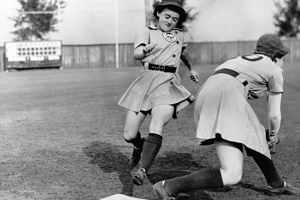 all american girls professional baseball league of their own