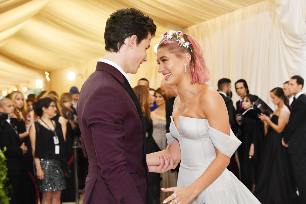 Hailey Bieber and Shawn Mendes