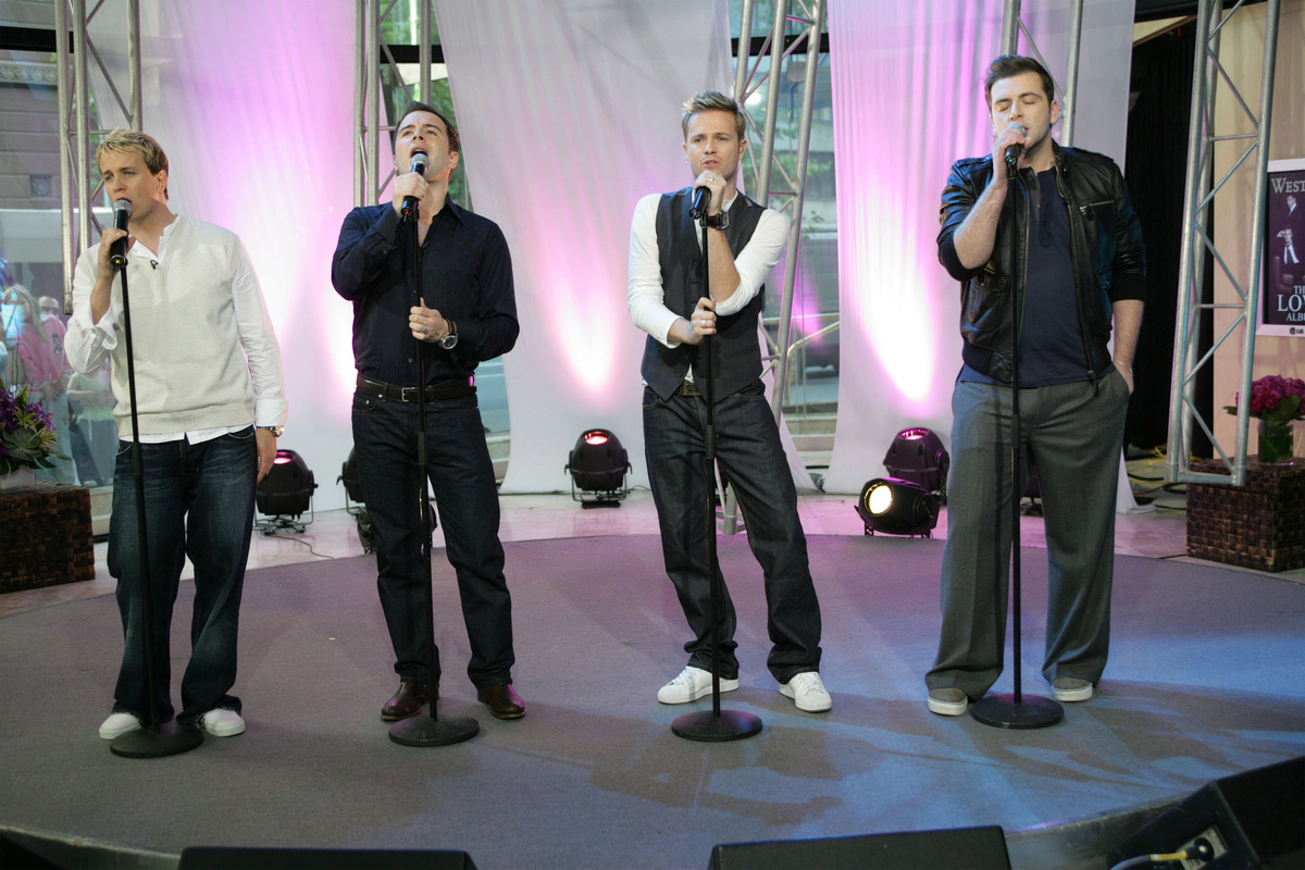 Westlife In-Store Performance at Channel 7 in Sydney - November 23, 2006
