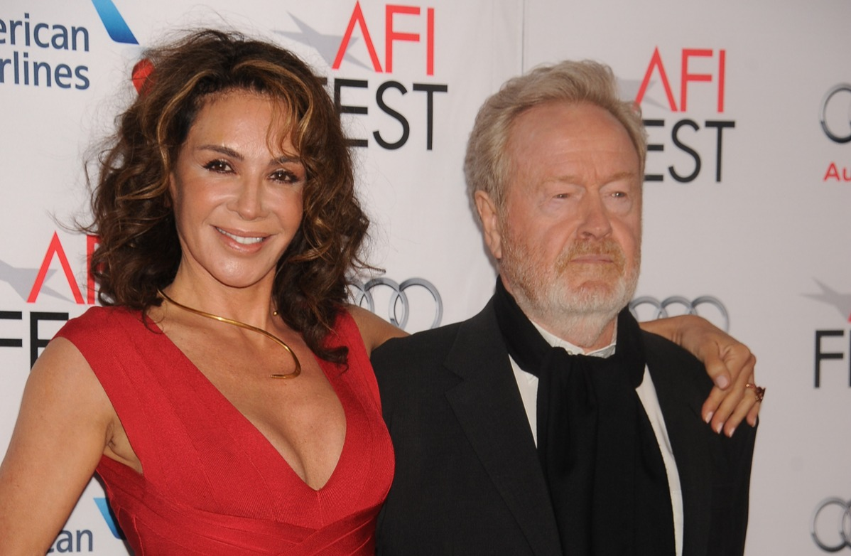ridley scott married his actress