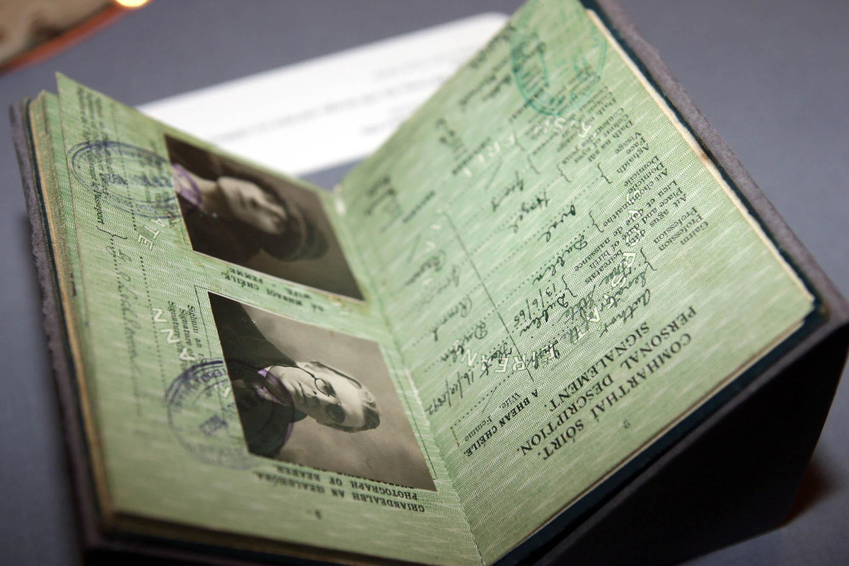 William Butler Yeats' passport women could not obtain passport in 1920