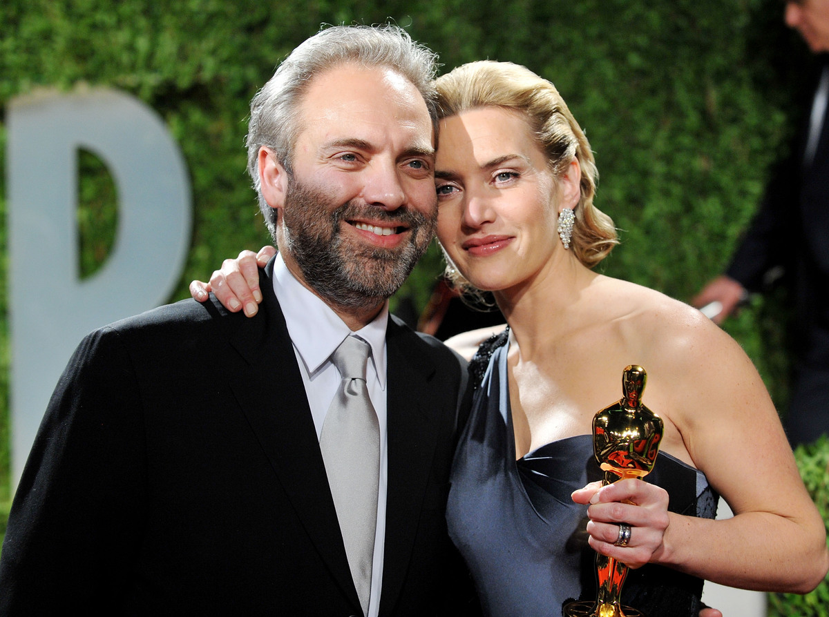 2009 Vanity Fair Oscar Party - Arrivals Sam Mendes and Kate Winslet marriage