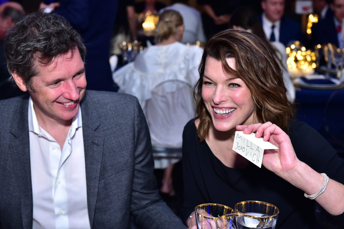 Montblanc Meisterstuck Le Petit Prince Event Paul WS Anderson and Milla Jovovich marriage