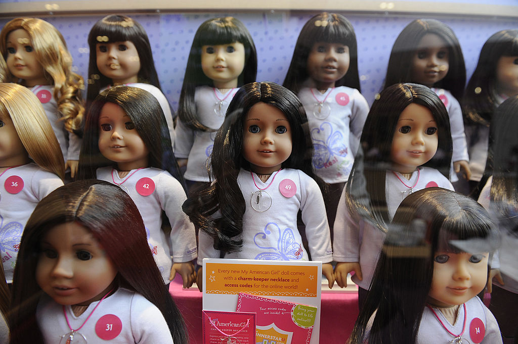 american girl doll books tell the story