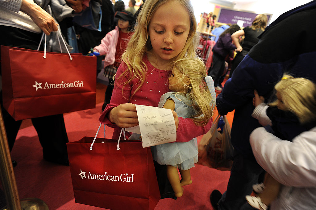 american girl dolls company sold for 300 million dollars