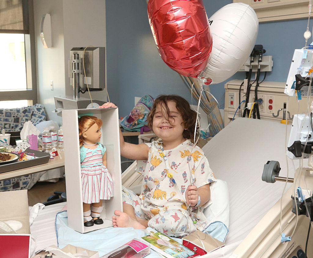 american girl doll creator diagnosed with cancer