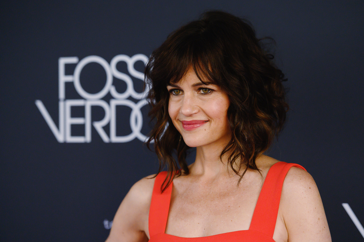 Actress Carla Gugino attends the New York Premiere for FX's