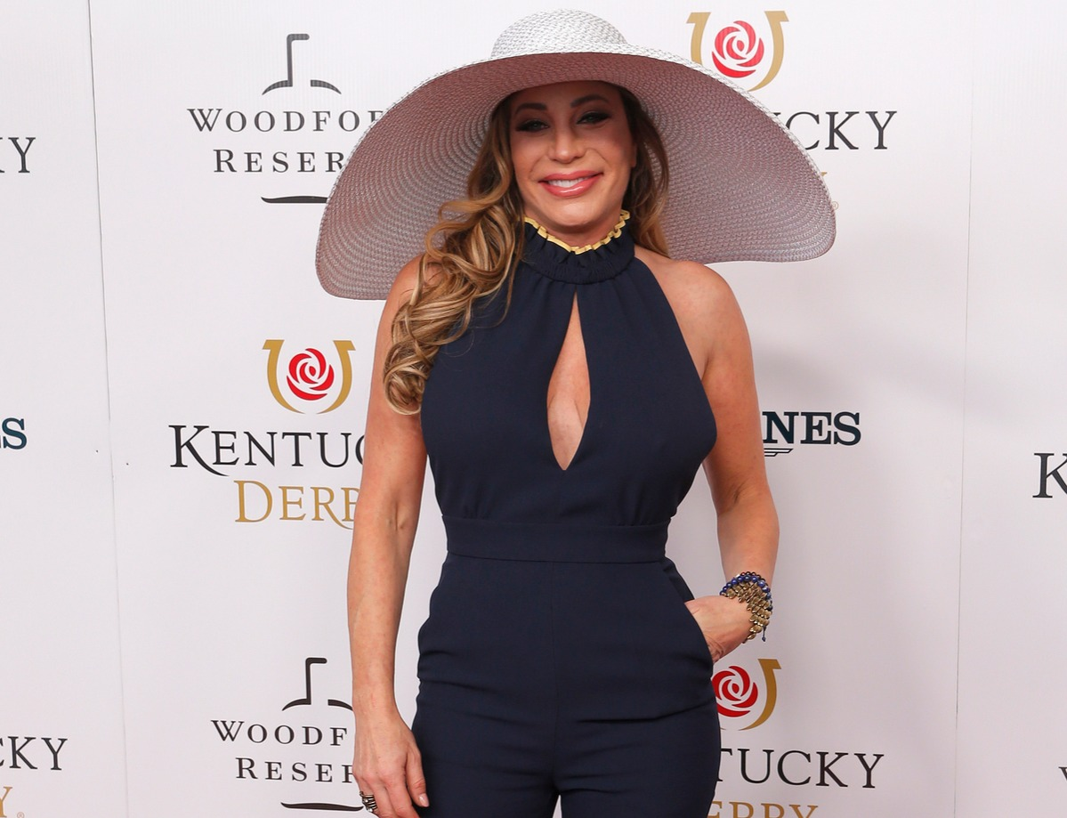 Taylor Dayne walks the red carpet prior to the145th running of the Kentucky Derby on May 4, 2019 at Churchill Downs, in Louisville, KY.