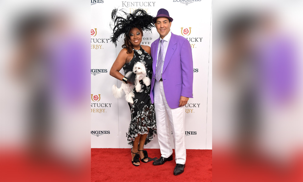 Star Jones and Ricardo Lugo attend the 145th Kentucky Derby at Churchill Downs on May 04, 2019 in Louisville, Kentucky.