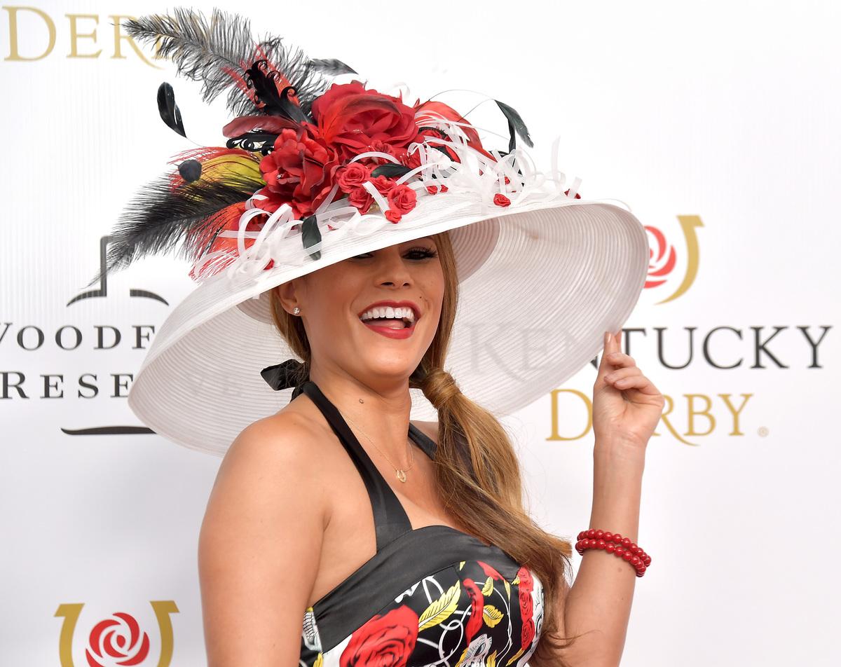 Bonnie-Jill Laflin attends the 145th Kentucky Derby at Churchill Downs on May 04, 2019 in Louisville, Kentucky.