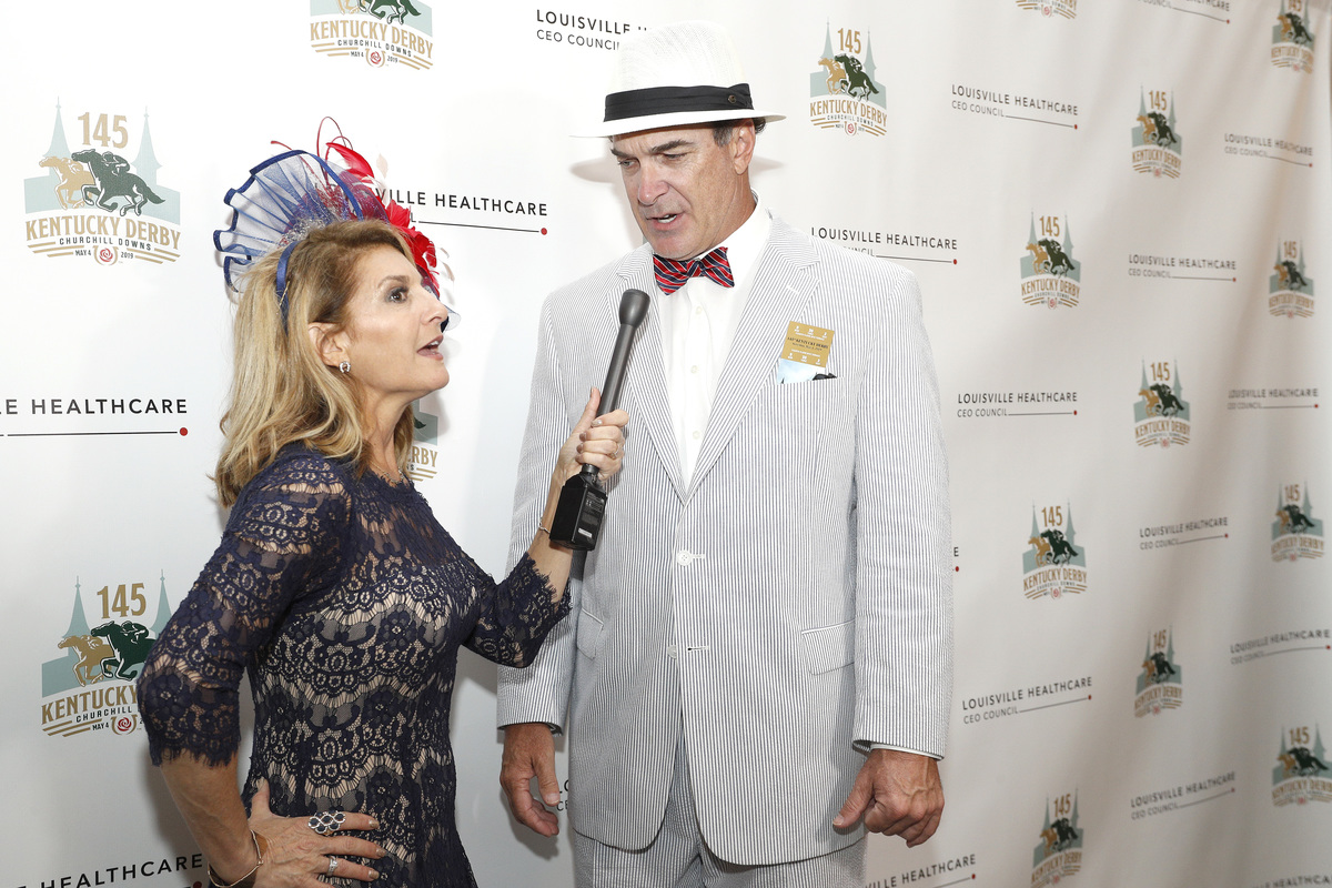 Patrick Warburton attends the Louisville Healthcare CEO Council Kentucky Derby Green Room during the 145th Kentucky Derby at Churchill Downs on May 04, 2019 in Louisville, Kentucky.