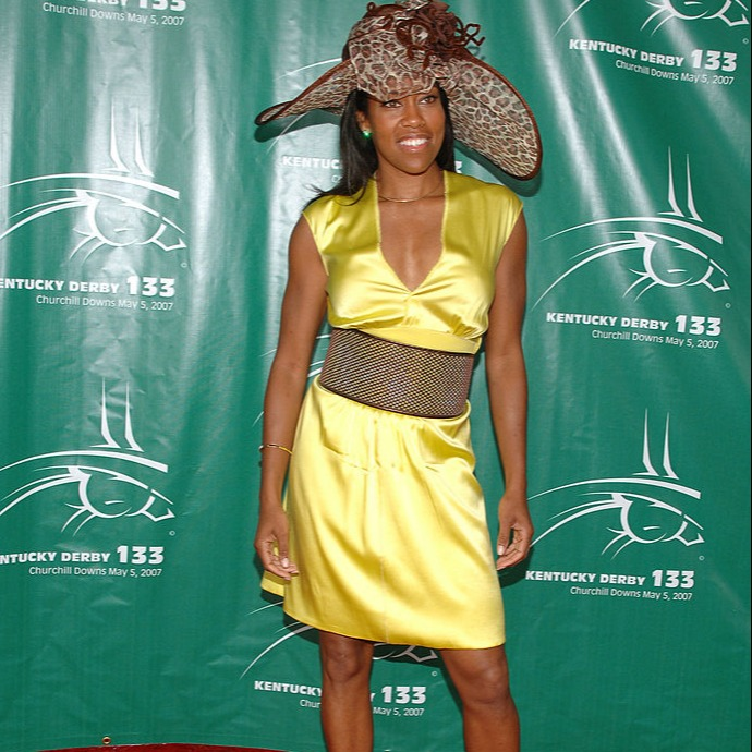 Regina King during 133rd Kentucky Derby - Arrivals and Atmosphere at Churchill Downs