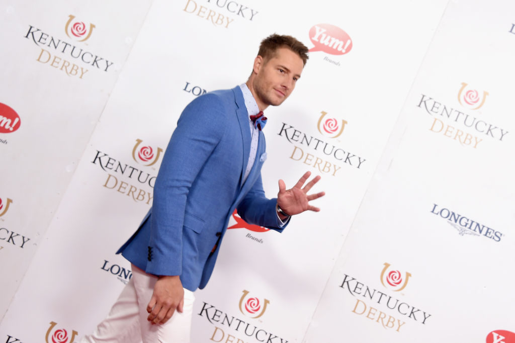 Justin Hartley attends the 143rd Kentucky Derby at Churchill Downs on May 6, 2017 in Louisville, Kentucky