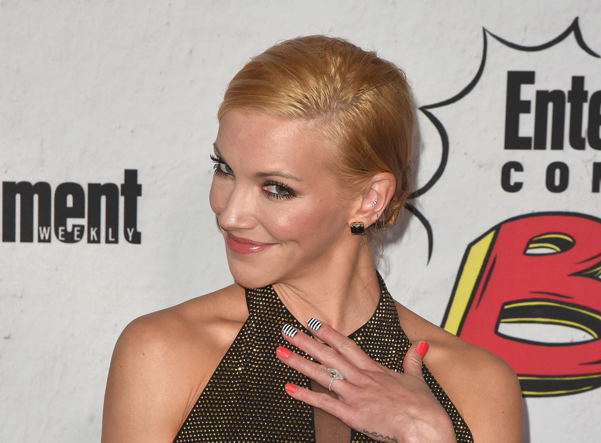 Katie Cassidy attends Entertainment Weekly's annual Comic-Con party