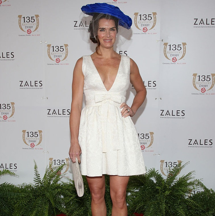 Brooke Shields attends the 135th Kentucky Derby at Churchill Downs on May 2, 2009 in Louisville, Kentucky