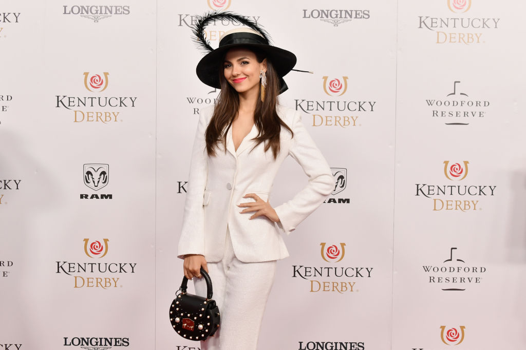 Actress Victoria Justice attends Kentucky Derby 144
