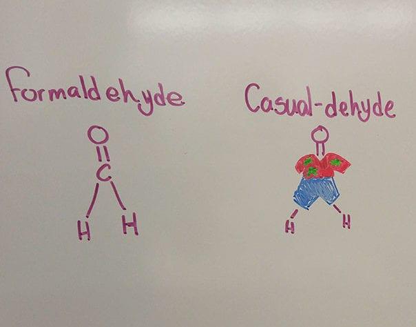 formaldehyde casualdehyde