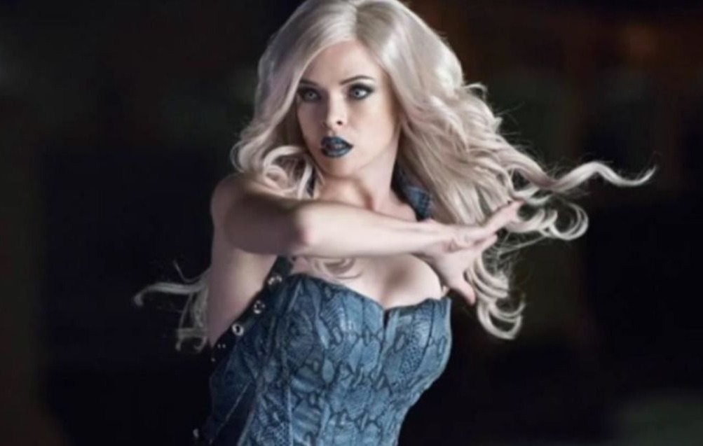danielle panabaker as killer frost caitlin snow