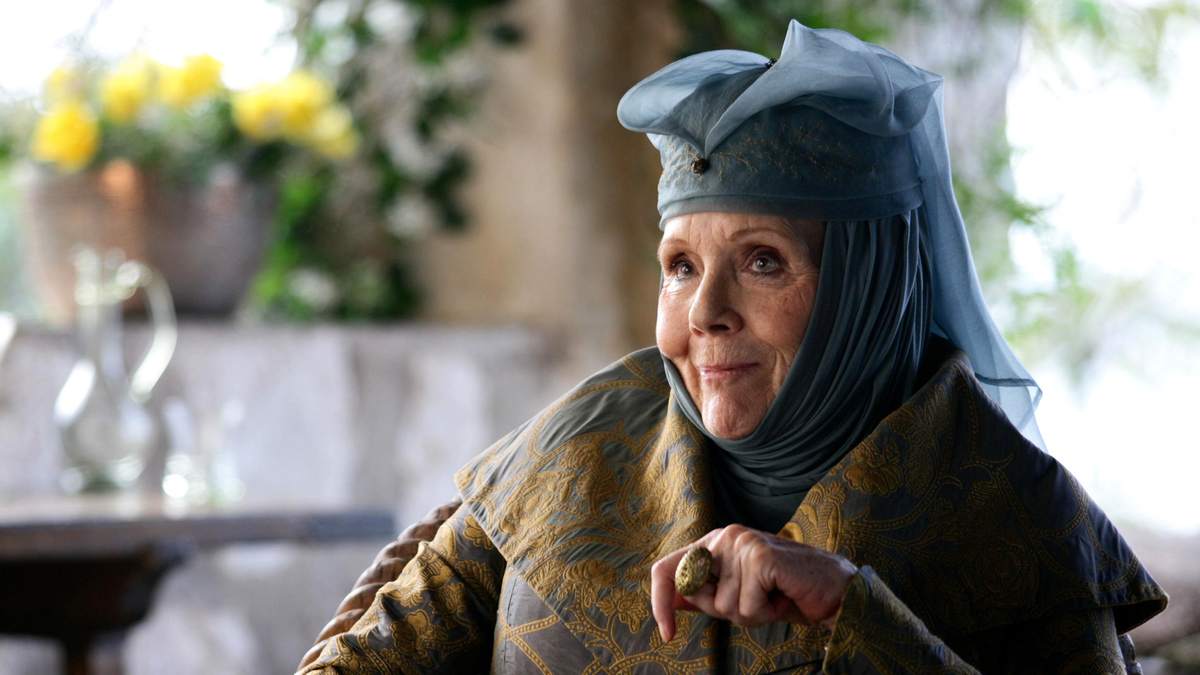 diana rigg got olenne tyrell