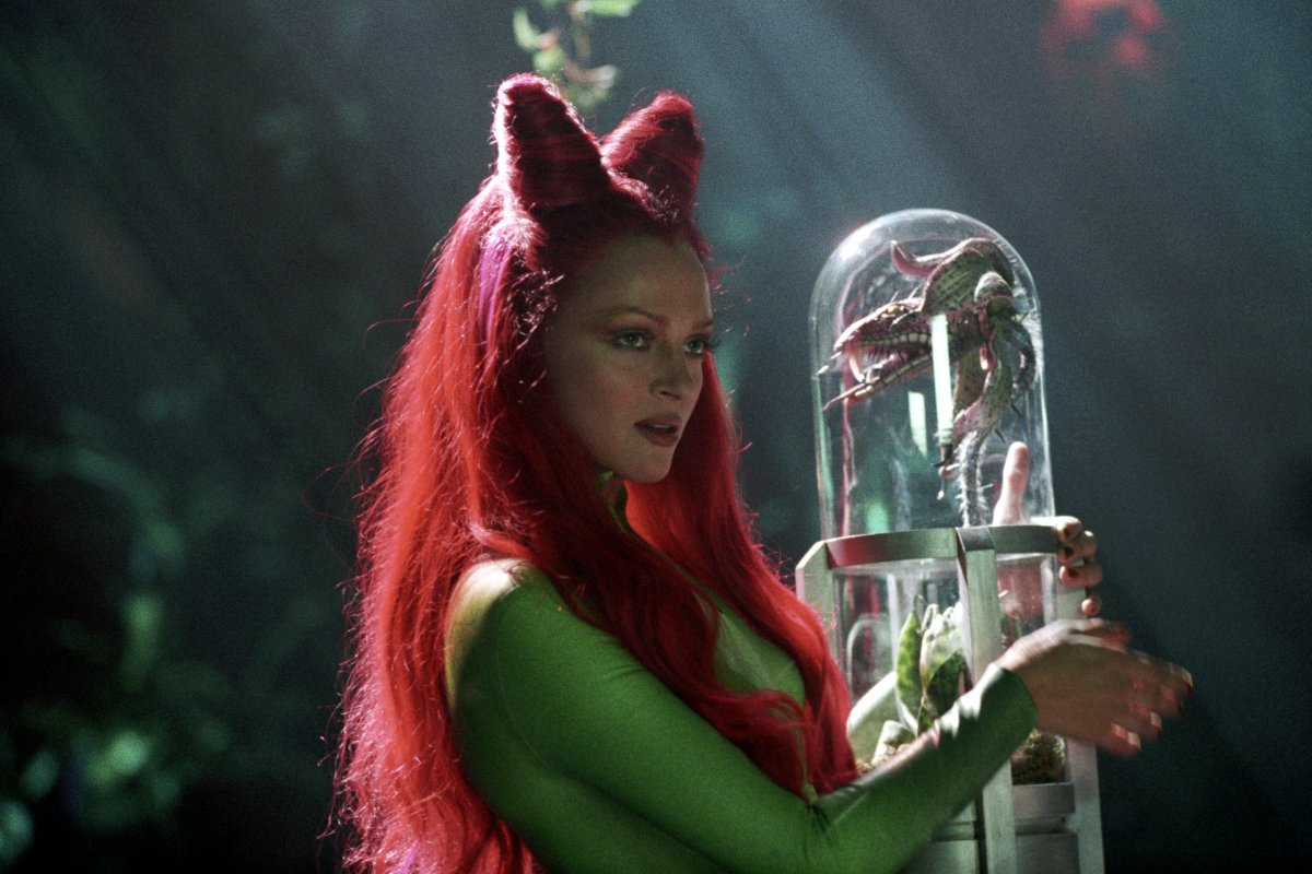 uma thurman as poison ivy or pam isley