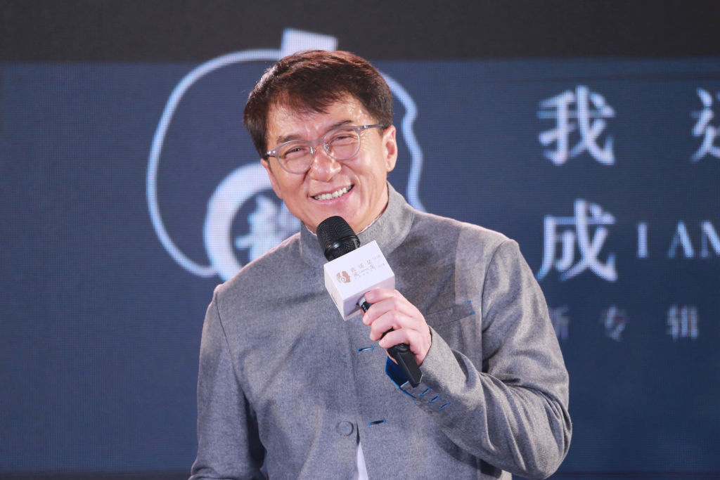 Jackie Chan promotes his new album 'I Am Me'