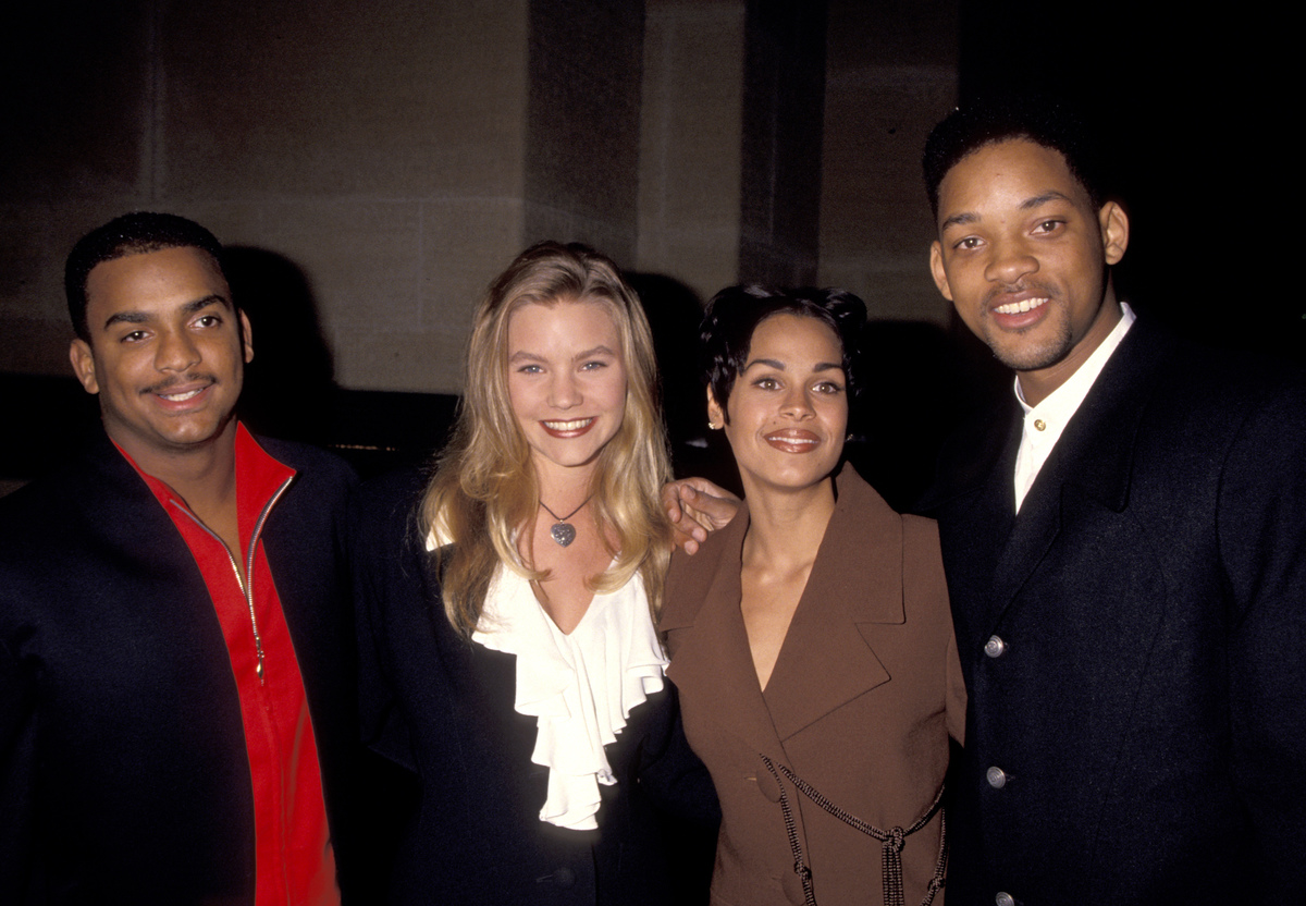 Will Smith at Six Degrees of Separation premiere in 1993