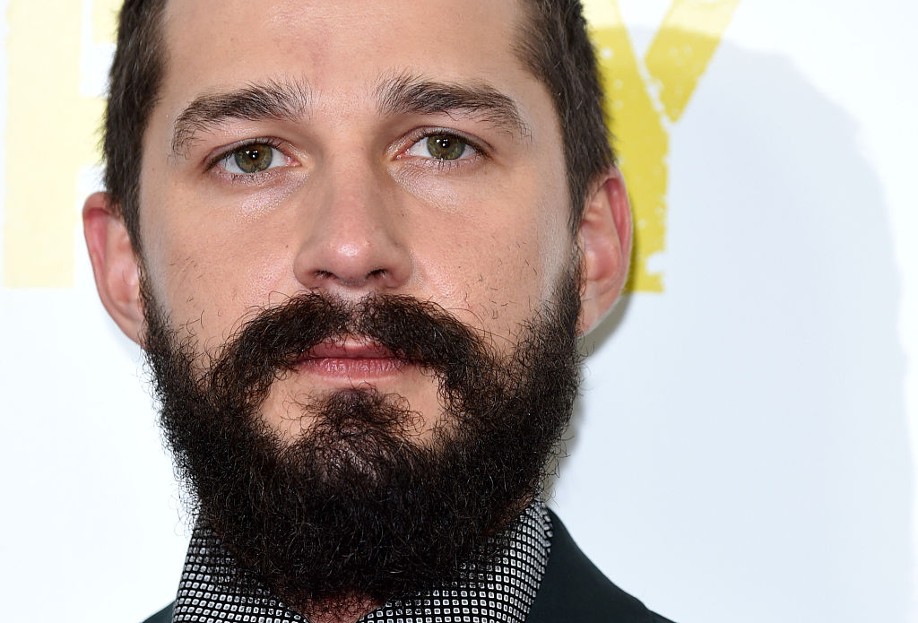 Shia LaBeouf attends a photocall for