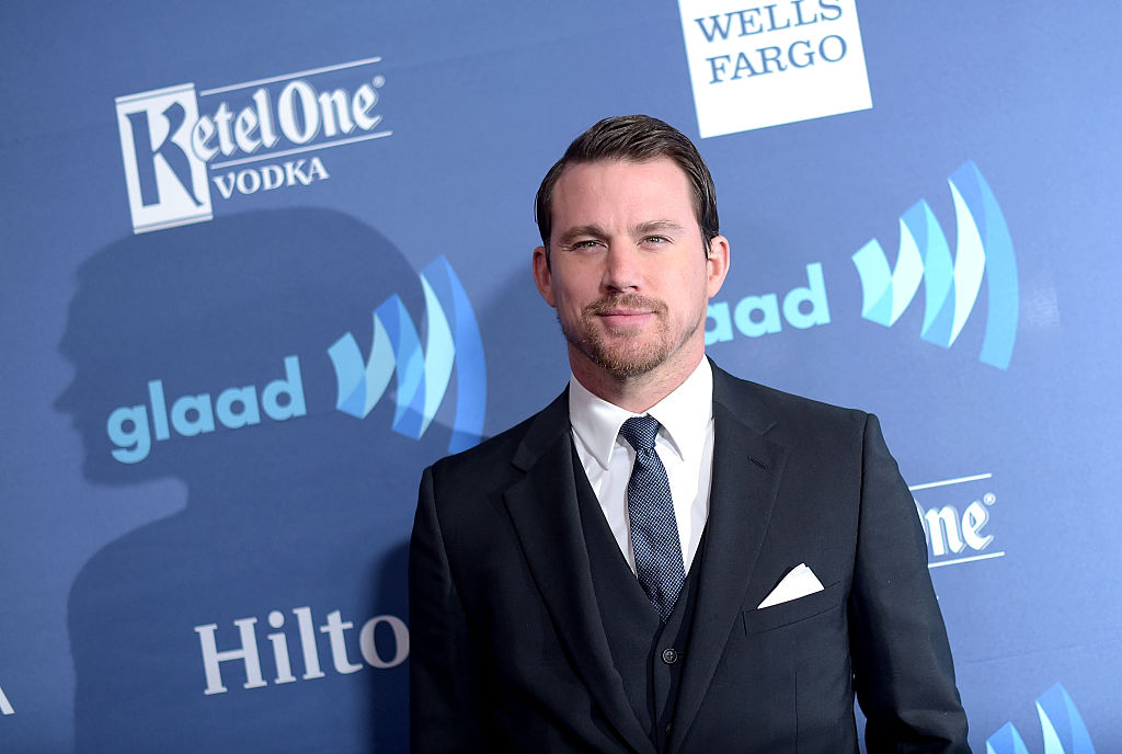 Channing Tatum attends the 26th Annual GLAAD Media Awards at The Beverly Hilton Hotel