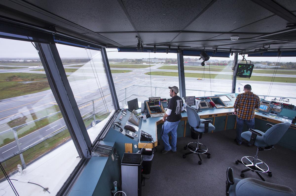 Air Traffic Controllers at Portland International