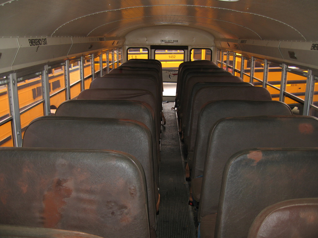 Rows-of-bus-seats-98456