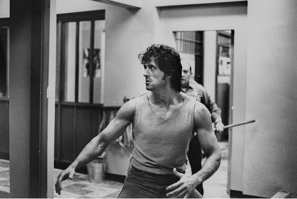 Sylvester Stallone breaks ribs in First Blood