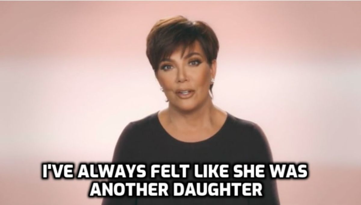 kris jenner talking about jordyn woods as another daughter