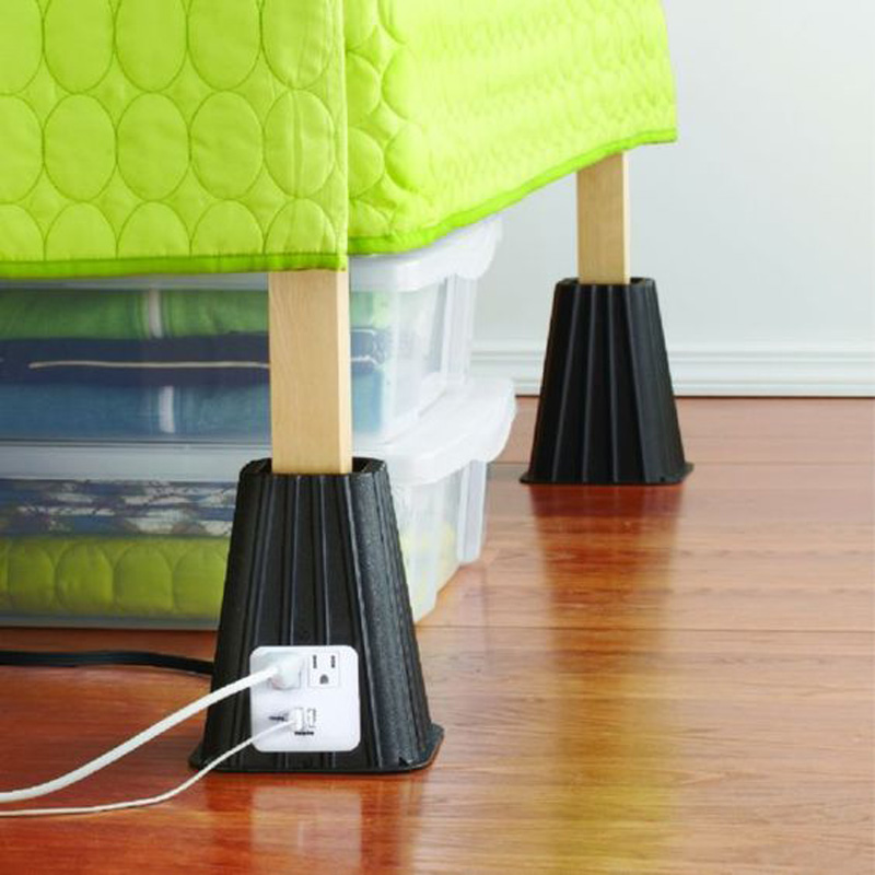 bed riser for your dorm room bed
