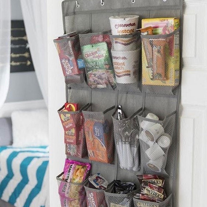 an over-door organizer for all your goodies