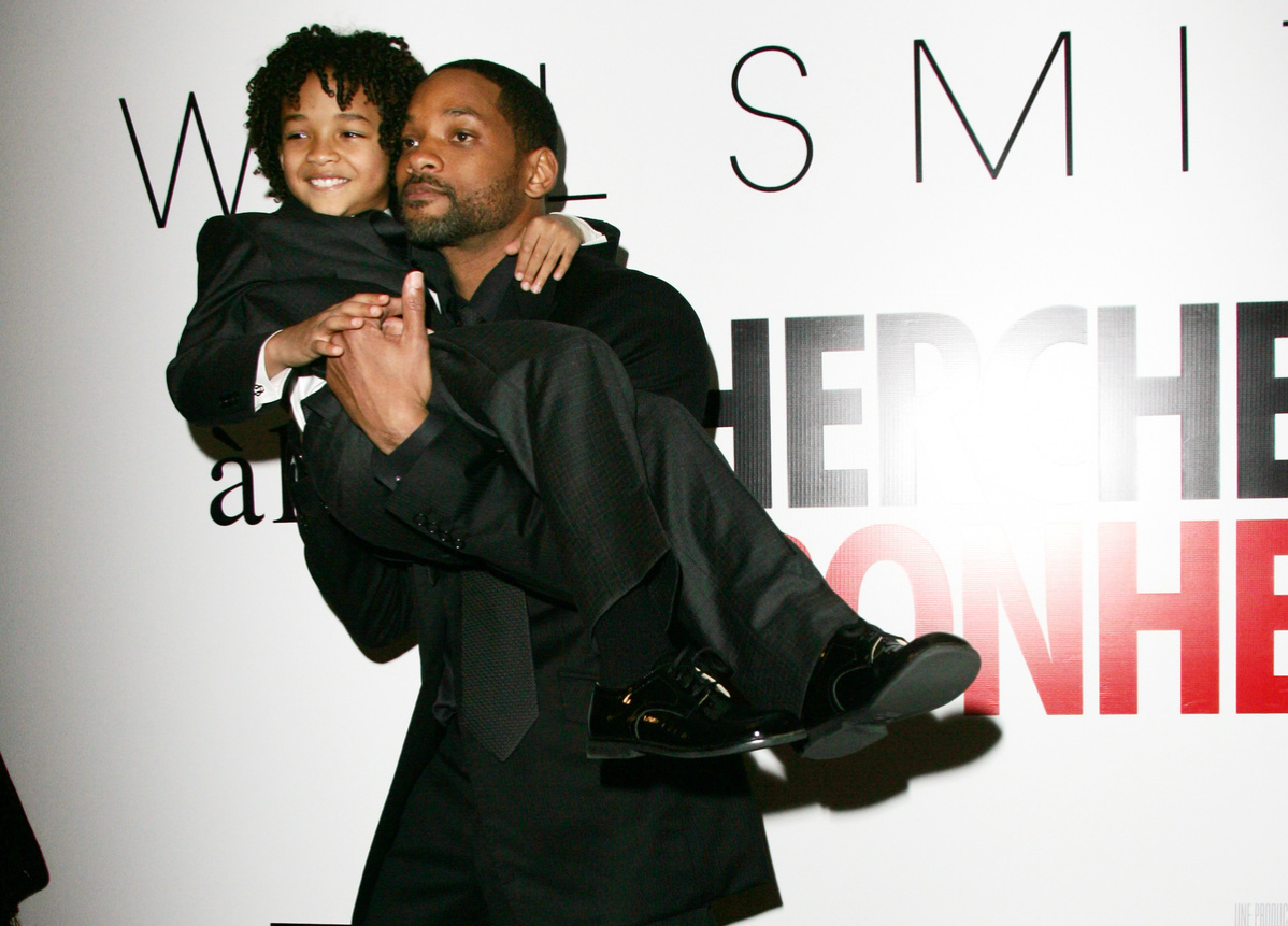 GWill and Jaden Smith Pursuit of Happyness premiere