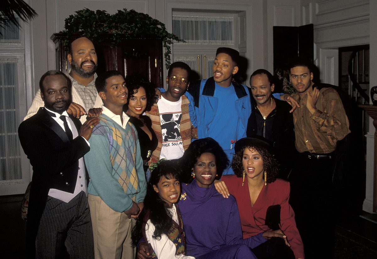 Fresh Prince of Bel-Air cast - October 1990