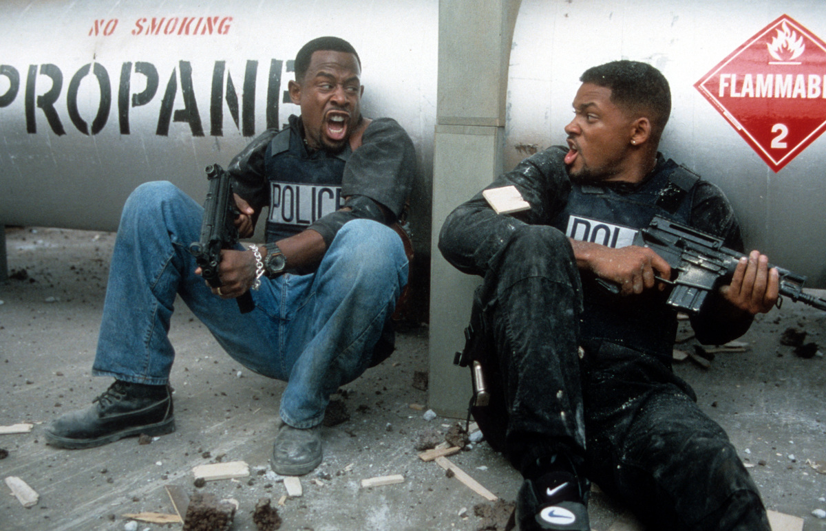 Martin Lawrence and Will Smith Bad Boys 1995