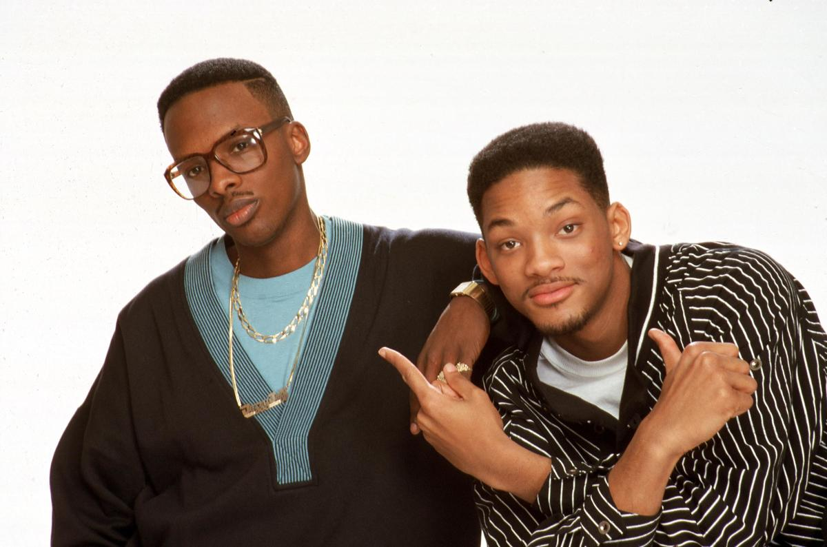 Jazzy Jeff and Fresh Prince rap duo