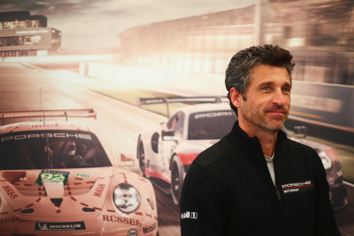 Patrick Dempsey 2018 at Le Mans 24 Hour Race