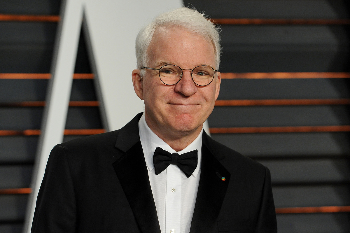 Steve Martin Vanity Fair Oscar Party 2015 at Wallis Annenberg Center