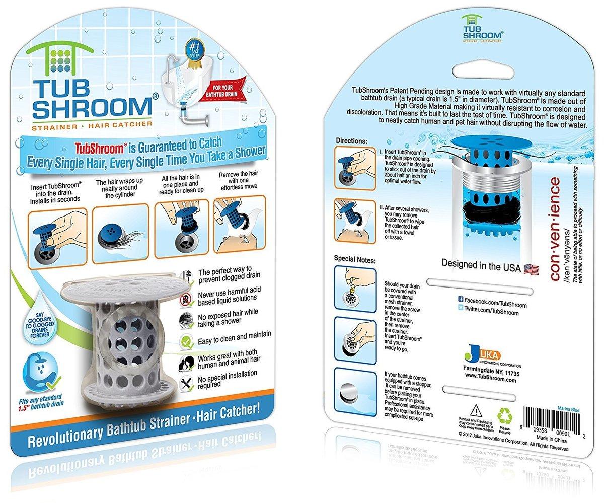 TubShroom with packaging