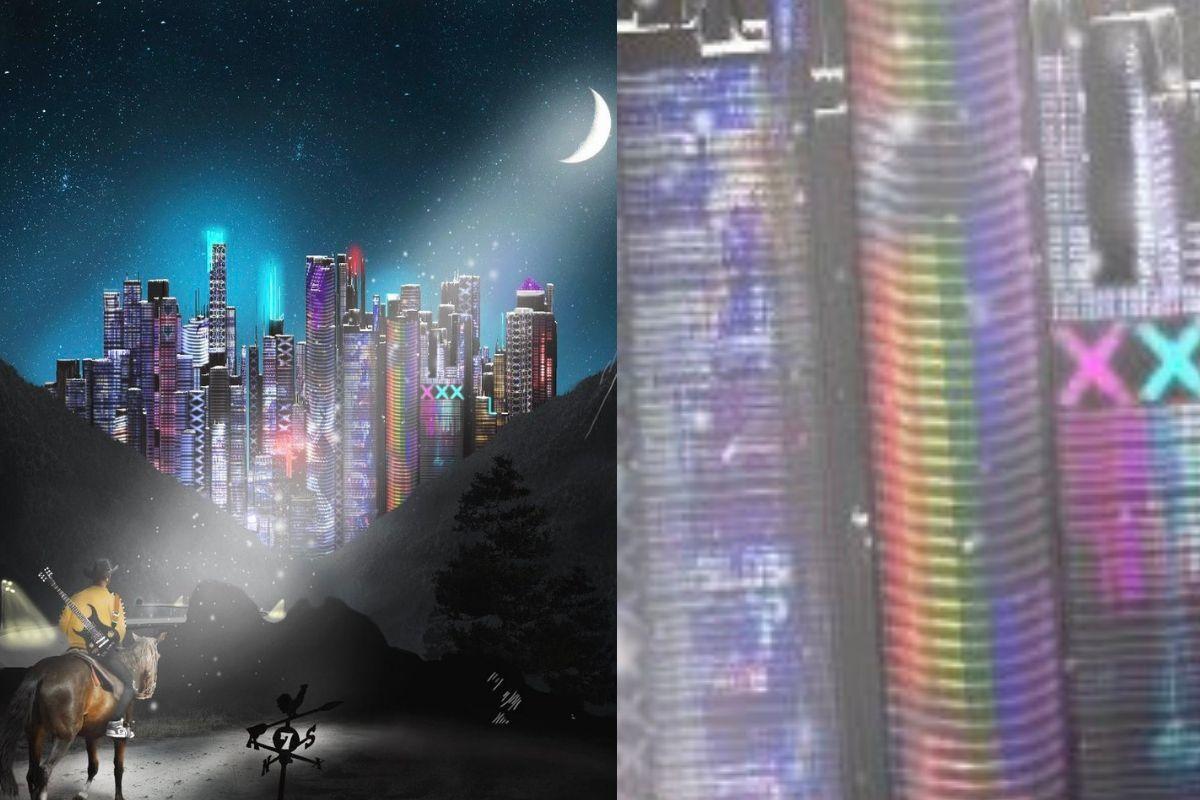 raindbow tower lil nas x album art