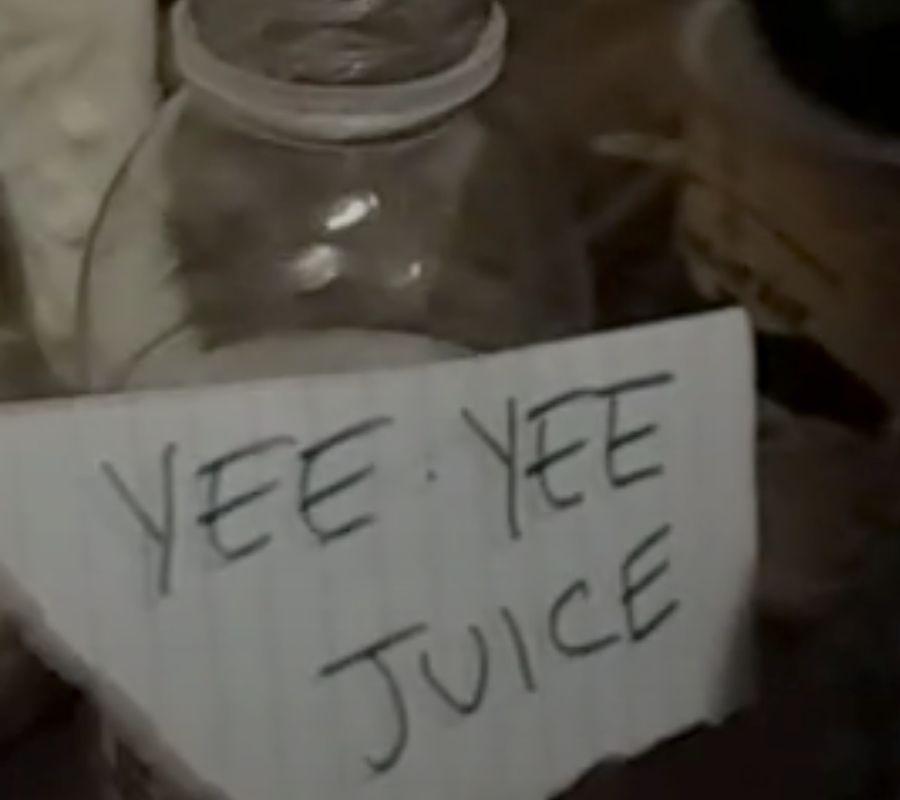yee haw juice water bottle