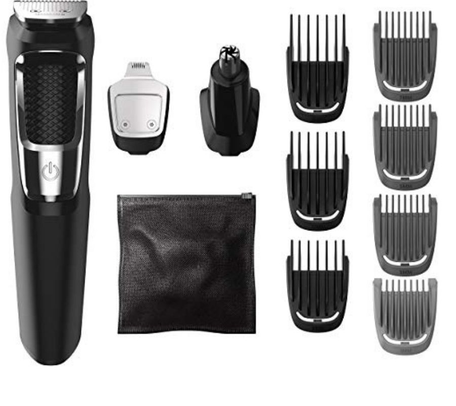beard trimmer and attachments
