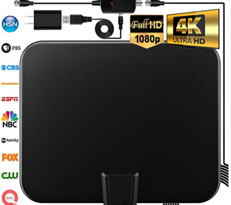 digital tv antenna for picking up channels just a black box