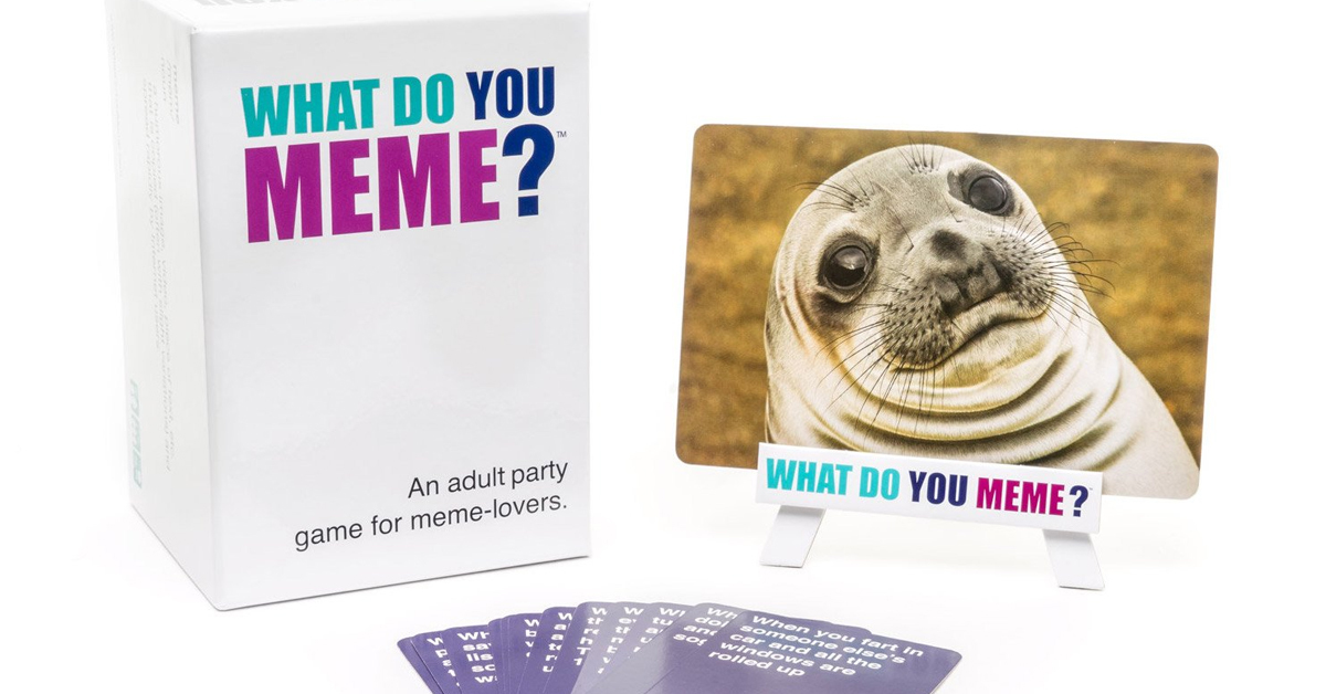 what do you meme? board game display with sea lion